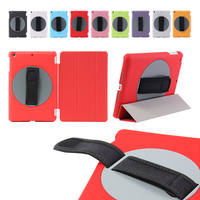 Special design rotating 360 degree handheld case arm band case for ipad mini