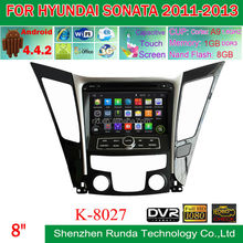 Double Din Car Stereo for HYUNDAI SONATA 2011-2013 Android 4.4 System, Trade Assurance Supplier