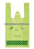 T-shirt plastic bag Exported to Japan