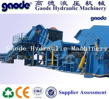 Hot sale!steel scrap typical crushing line /forward out PSX-750