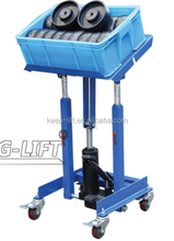Mobile Hydraulic Work Positioner Cart 150KG