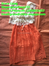 Taiwan original cream quality wholesale unsorted second hand clothes