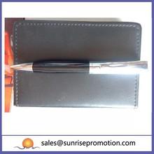 Large Capacity Black Aluminium Ballpoint Pen