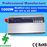 Chao Min Hot sales small power inverter 1000w with CE& RoHS certification approved