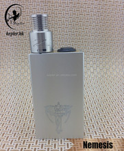 2015 new products Nemesis mod Nemesis box mod with 18650 battery compatibility