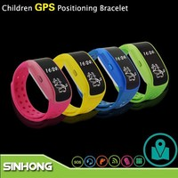 Wrist Bracelet LBS GPS Tracking By Phone Number