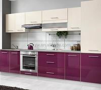High gloss mini DIY kitchne cabinets