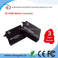 10/100/1000M WDM,1550/1310,20km,SC Media Converter