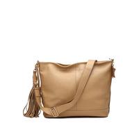 Leather Handbag In Leisure style Tassel Lady Genuine leather Shoulder Handbag