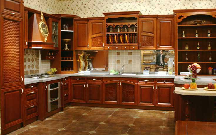 hot vendre 2014 l gant en bois d 39 armoires de cuisine. Black Bedroom Furniture Sets. Home Design Ideas