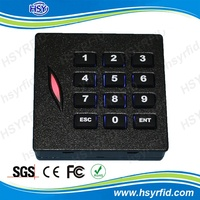 RFID Access Control security door card reader with keypad