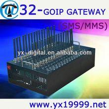 GPRS bulk sms modem 32 port tc35 gsm modem m2m gsm modem