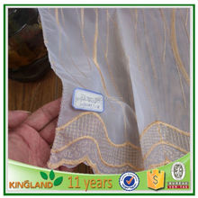Royal hand embroidered curtain designs affordable sheer linen fabric drapery