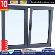 Wholesale Double Glazing Tilt and Turn Window/Aluminum Window