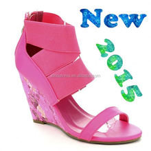 2016 woman sandals fashion ladies girls high heel sandals pictures