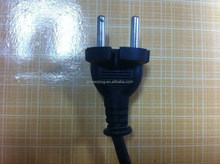 Wholesale 4.8mm 2 round pin Indonesia ac power cords for tools