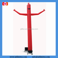 custom 10 meters one leg air dancer 1 piece with blower free shipping to France