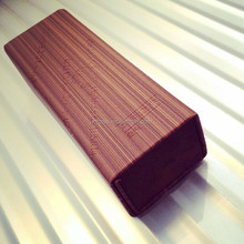 Retro imitation wood grain folding hand-made glasses case factory wholesale
