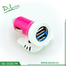 Lovely 5V 2.1A Car 12V Adapter With Fuse