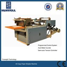CE Standard A4 Copy Paper Sheeter Machine