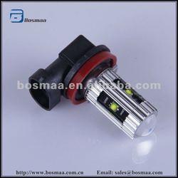 Small Size H8 XENON 6000K WHITE 5 LED CREE - CAR FOG HEAD DRIVING Lights - LIGHT BULBS