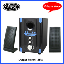 Cheap 2.1 Professional Private Mode Multimedia Mini Speaker With USB,SD,AUX,FM,Bluetooth