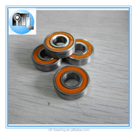 Hybrid ceramic stainless steel bike groove bearing 61900-2rs /10x22x6mm