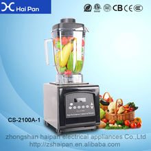factory wholesale electric Stainless Steel Blad 2015 hot sale commercial blender smoothie maker