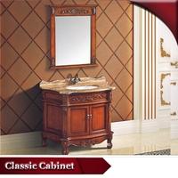 HS-G666 solid wood cabinet/ vanity cabinet/ vanity fair bathroom furniture