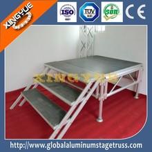 aluminum frame 4x8ft concert aluminum portable stage