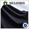 Mulinsen Textile Knit Spandex Poly Spun Soild Dyed Formal Black Polyester Fabric