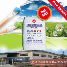 water-based solvent pigment titanium dioxide rutile R218 exterir paints special
