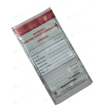 Free Delivery SGS Authorized Forensic Science Laboratory Evidence Bags In Stock!