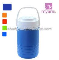 2.5L blue portable promo cooler barrel