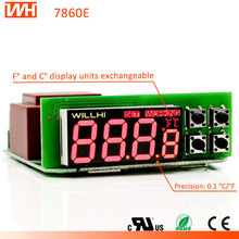 WH7860E with Dual core MCU Improved Temperature Controller Thermometer
