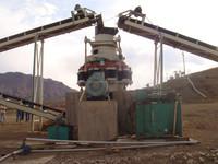 sand crusher machine ,hydraulic cone crusher ,crushing and grinding production line