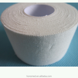 Zinc oxide tape adhesive 1.5 inch wide cotton athletic tape Strappal Zinc Oxide Tape new product