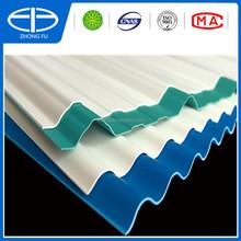 UPVC plastic pvc wall panel / PVC Corrugated roofing sheet