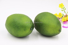 OEM Realistic Artificial Fruit Fake Green Lemon Faux Lime Home Party Weeding Decorative