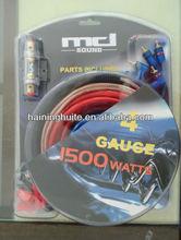 NEW 4 gauge Power Amplifier / amp Kit 1200 Watt Install Wiring Kit Car Audio