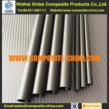 Good Quality 1K Or 3K Polished Carbon Fiber Pipe,carbon fiber tube smooth gloss finish