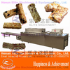 multifunction barley cereal fruits nuts candy bar moulding machine