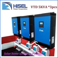 HiSEL off-grid high frequency 4000VA power inverter with charger solar energy system price