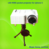 phone accessories led mini pocket projector for iphone 5 5s