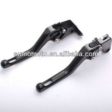 Wave Short Version Billet 100%CNC Machined Clutch and Brake Motorcycle Racing Levers