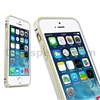 Fashion LOVE MEI Curved Metal Bumper Hard Case for iPhone 5/5S