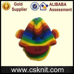 Brand new winter knitted black ski mask hat knitting pattern / 100% acrylic winter hat