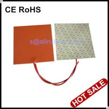 Caucho de silicona de 24V calentador de cama para impresora 3D 300x300MM