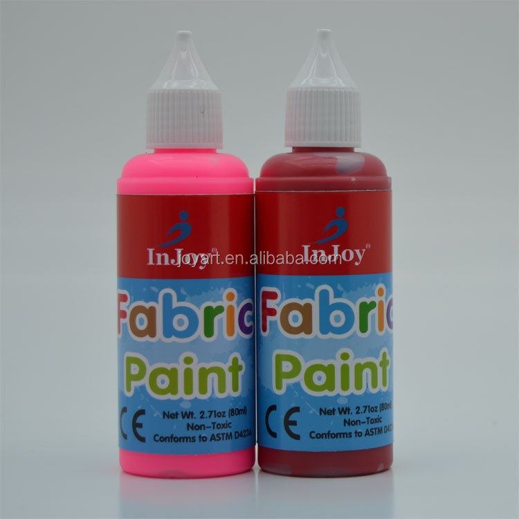 80ml non toxic fabric paint f963 buy fabric paint. Black Bedroom Furniture Sets. Home Design Ideas