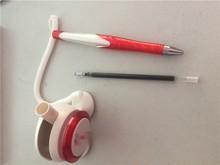 desk pen plastic table pen counter pen for promotion